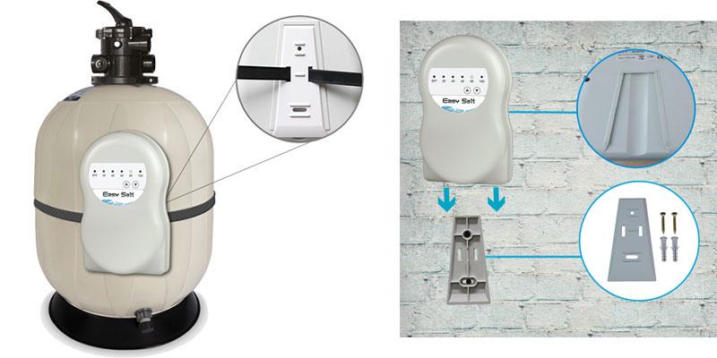 electrolyseur au sel piscine easy salt. Black Bedroom Furniture Sets. Home Design Ideas